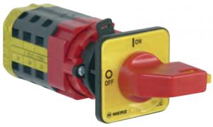MERZ Zwischeneinbau Schalter, Hauptschalter, Ein- und Aus Schalter, Nockenschalter Spälti Schalter
