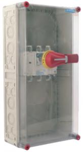 MERZ Reparatur- und Wartungsschalter, Hauptschalter Aufputz, Anlageschalter, Ein Aus Schalter