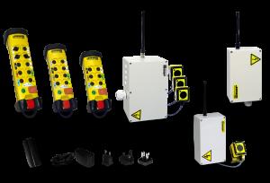 Funksteuerung mit Not-Halt Funktion und von 2-16 Kanal