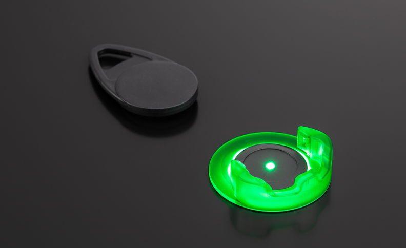 RFID Tag Halter mit LED-Statusanzeige