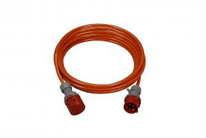 PUR Verlängerungskabel mit Stecker und Kupplung CEE