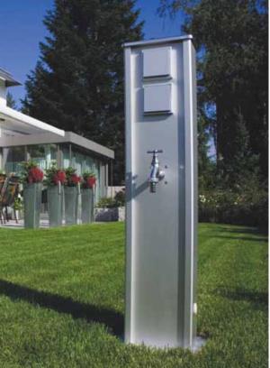 Gartenenergiesäulen Spälti Elektro Ag